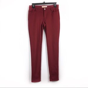 Michael Kors Burgundy skinny pants